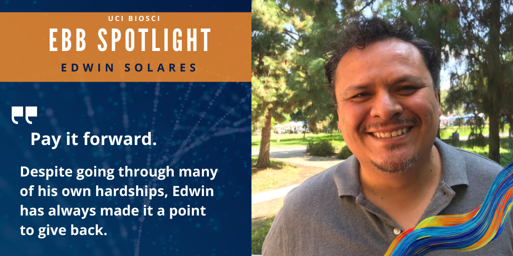 Edwin Solares, Phd Student and quote